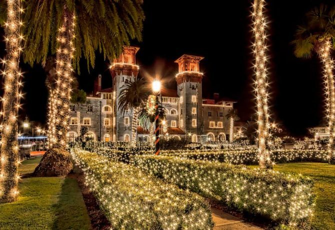 Nights of Lights Dates Photos Information 2016 St. Augustine Florida