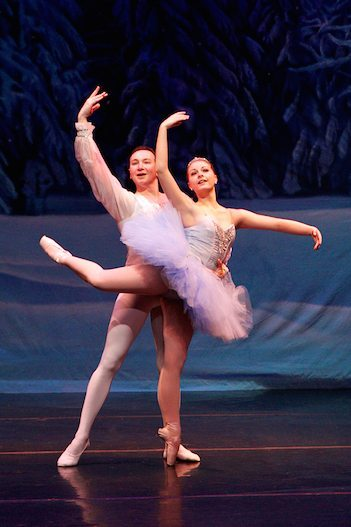 14-year-old Kali Lee, shown dancing in the St. Augustine Nutcracker, will play the part of Wendy in St. Augustine Ballet's Peter Pan on May 16. Contributed photo