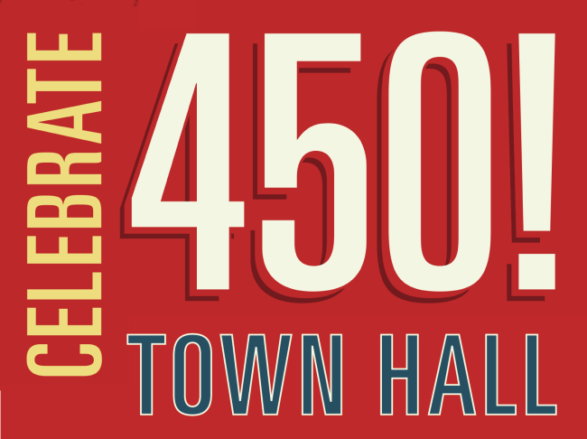 Celebrate450TownHall