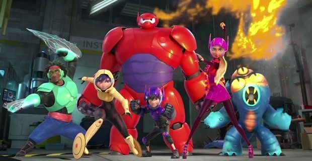 Big Hero 6 will be on screen June 24 in downtown St. Augustine as part of Movies by the Bay, a free film series hosted by Ripley's and the City of St. Augustine. Contributed photo