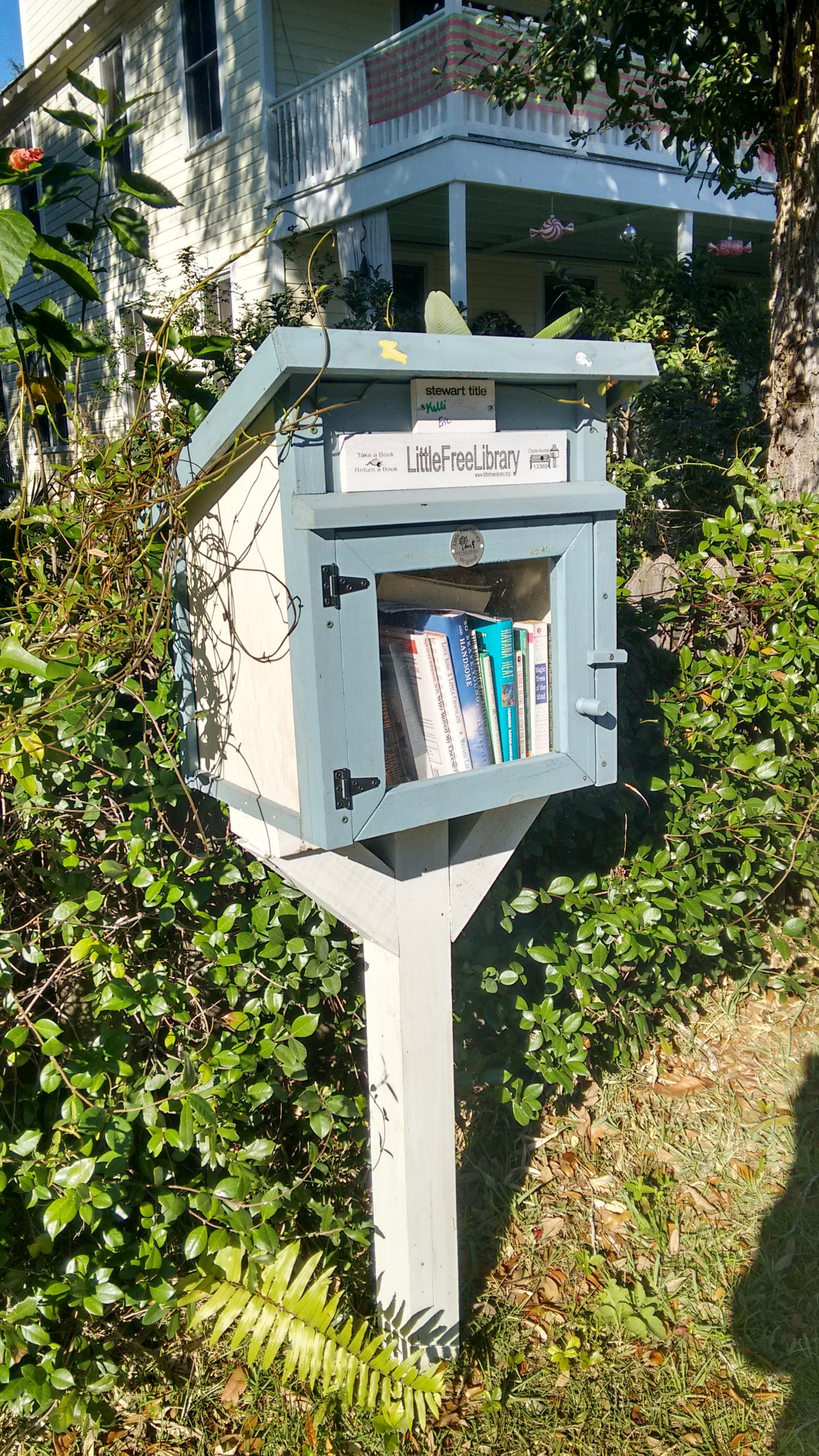 Little Free Libraries can be found in a neighborhood near you.