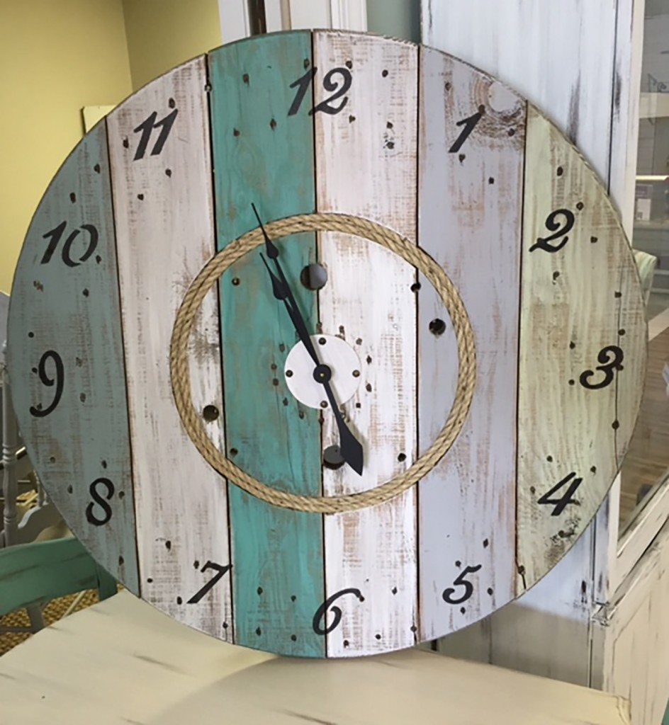 spool clock