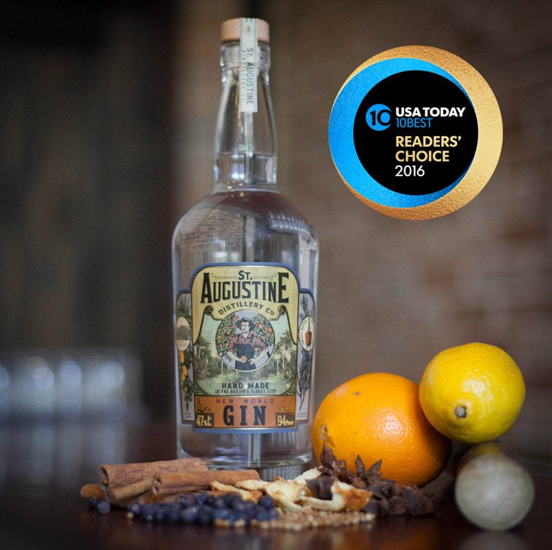 St. Augustine Distillery Gin USA Today