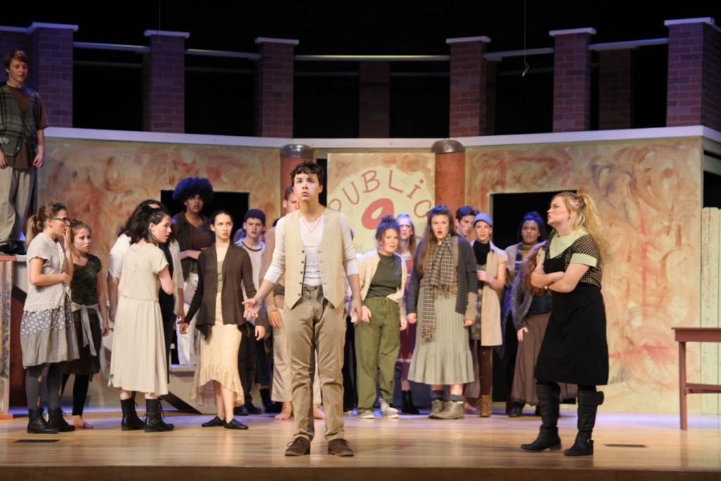 Urinetown musical ensemble