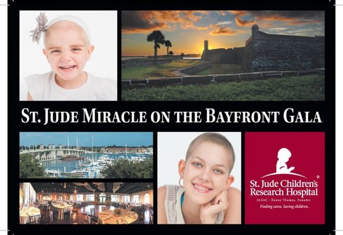 Support St. Jude Children's Research Hospital at the 5th Annual Miracle on the Bayfront Gala