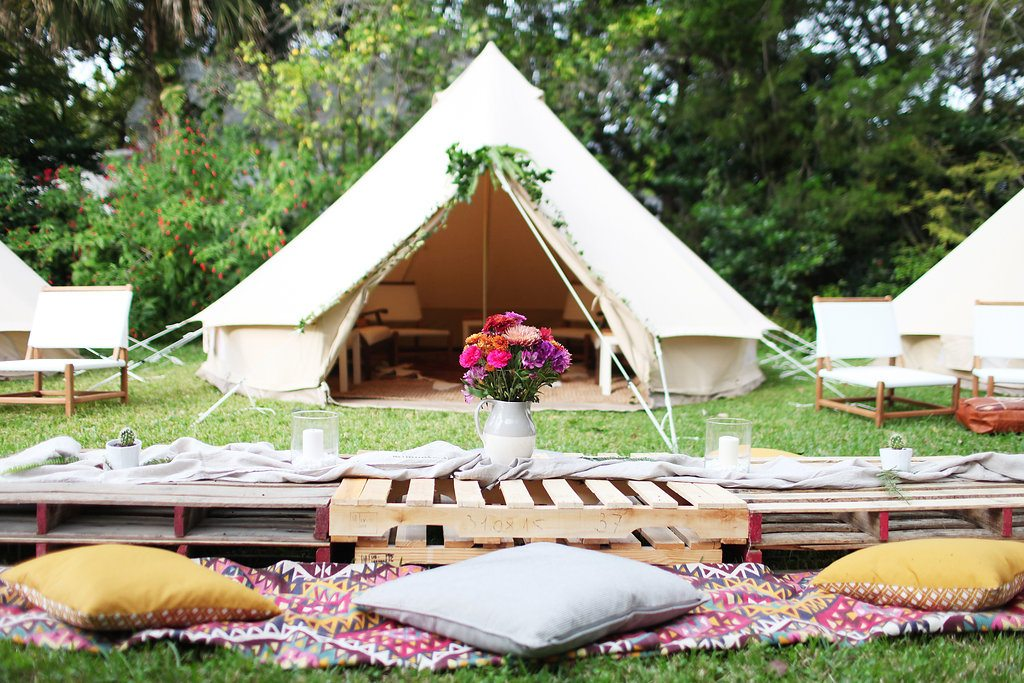 No More Roughing It with Fancy C&s & No More Roughing It with Fancy Camps » St. Augustine Social