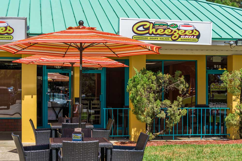 Cheezees Restaurant Saint Augustine Florida Sandwich Deli