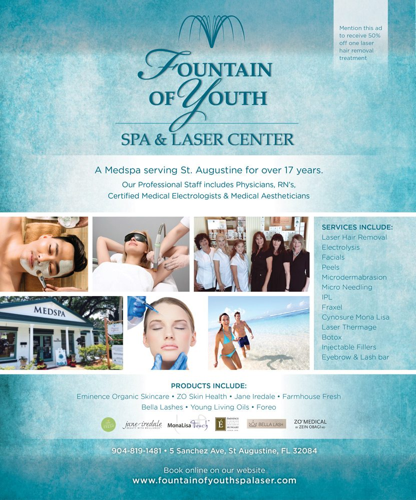 Fountain Of Youth Spa Saint Augustine Florida St Augustine Social