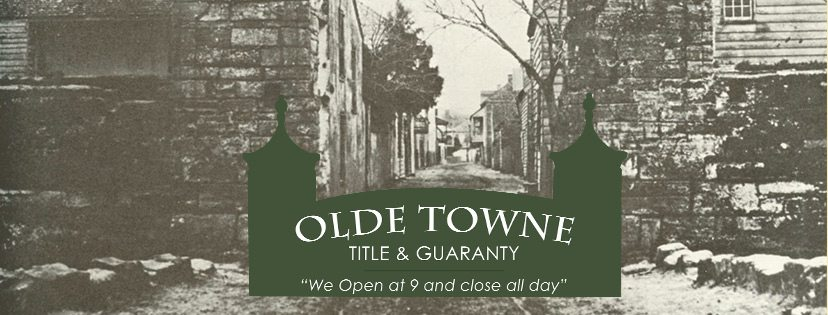 Welcome To The Olde Towne Title and Guaranty