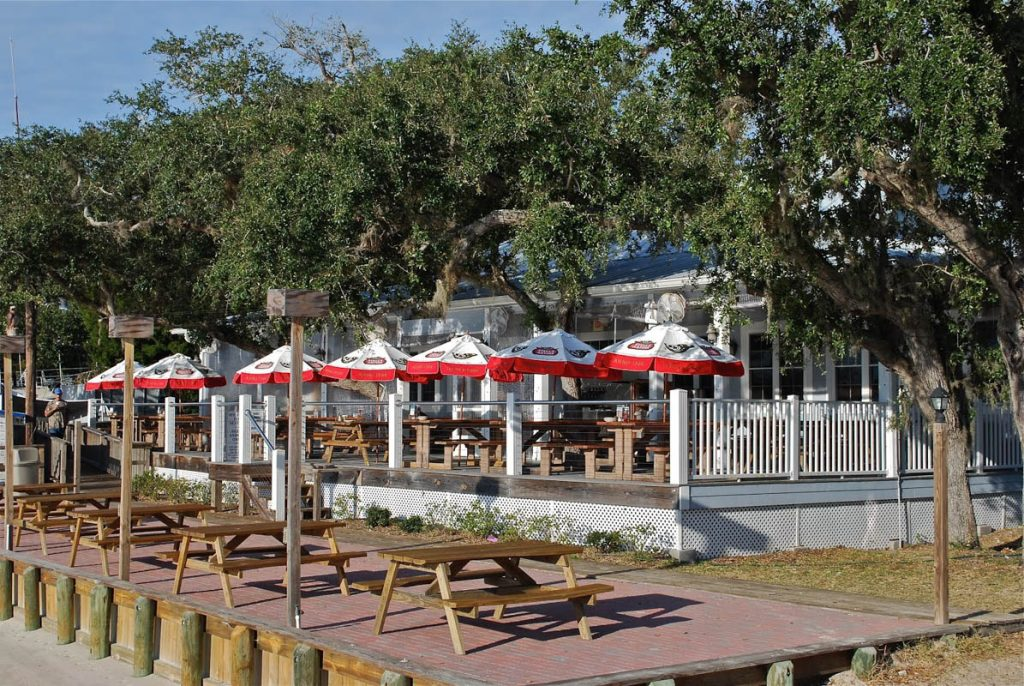 the exterior of aunt kate's restaurant in st augustine