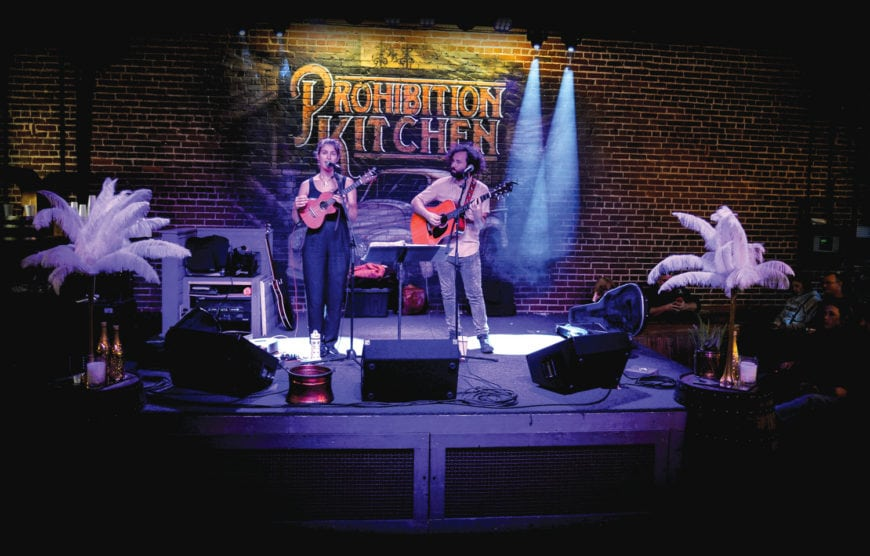 Prohibition Kitchen Live Music