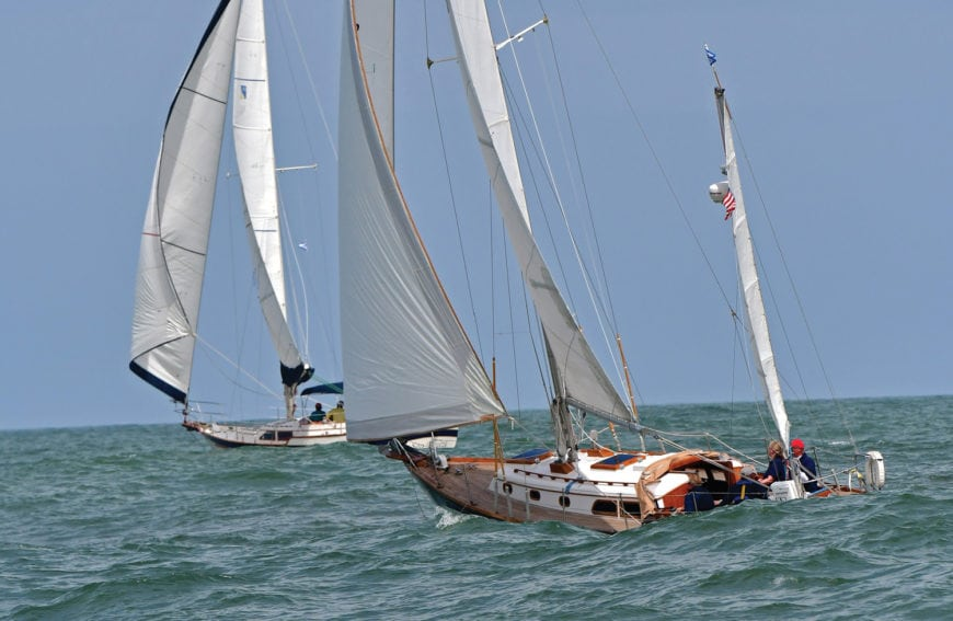 Offshore Sailboat Racing