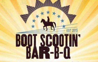Boot scootin bbq 2017 logo st augustine
