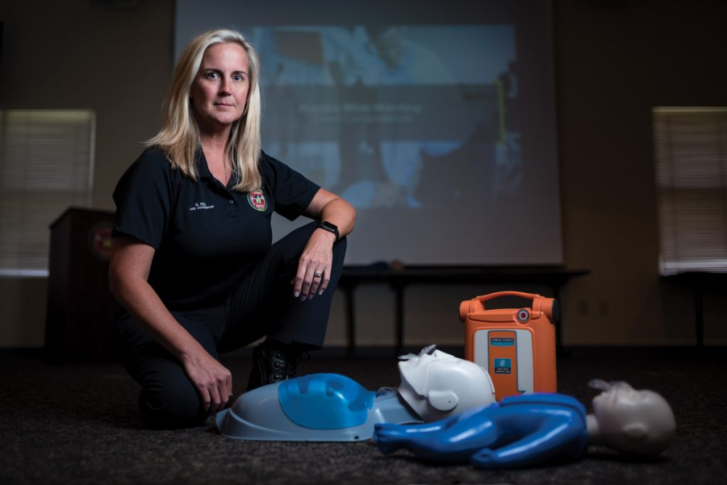 greta hall st johns county fire rescue cpr