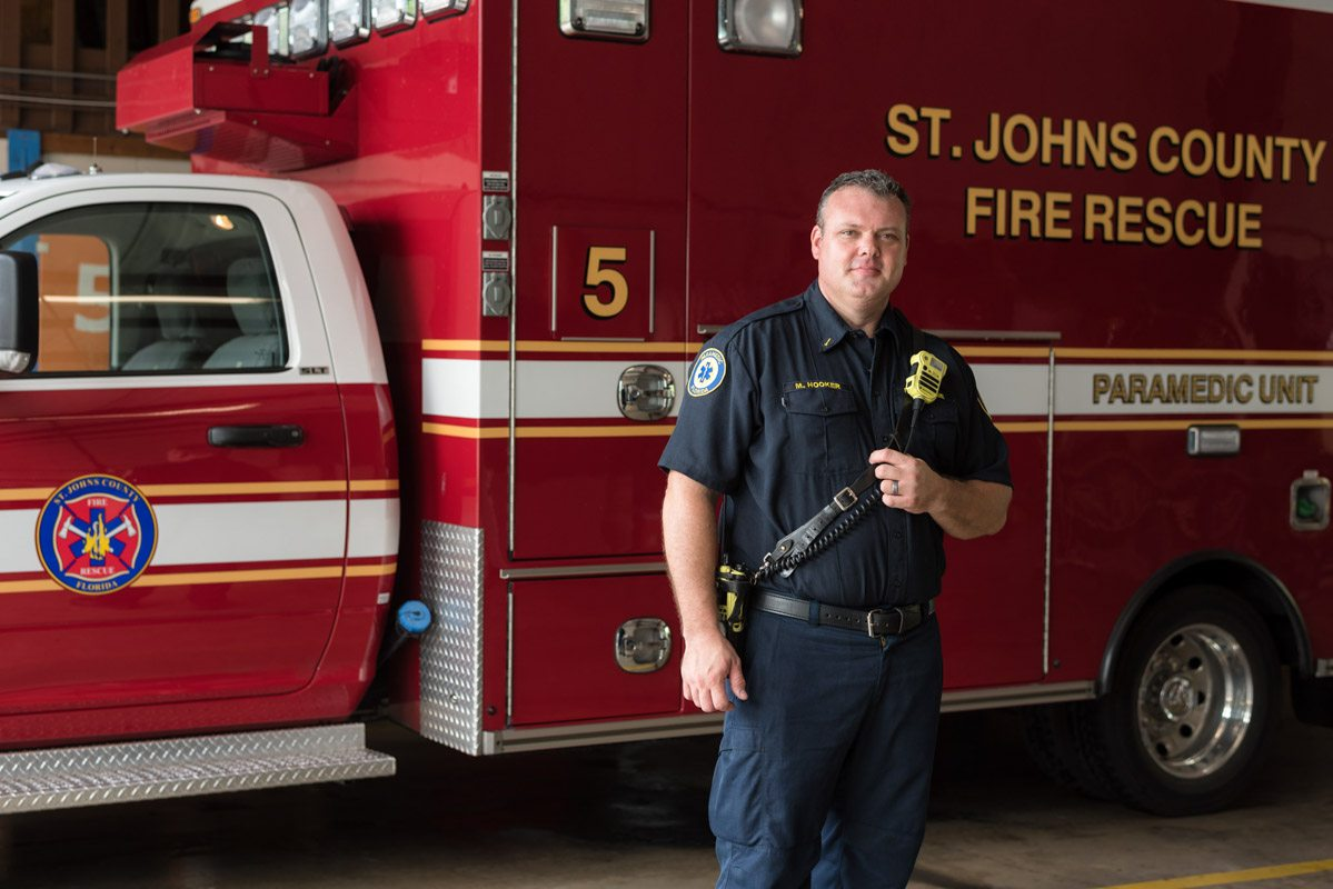 2016 paramedic of the year st johns county matthew hooker