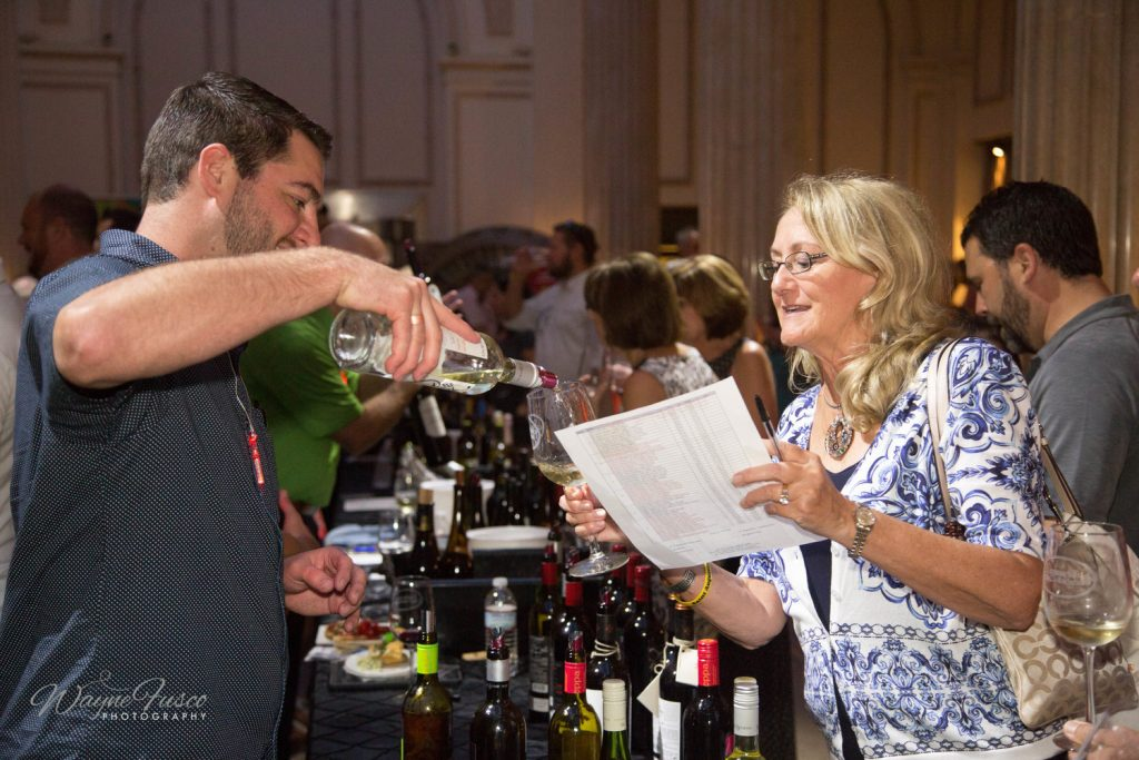 grand tasting at the spanish wine festival saint augustine 2017
