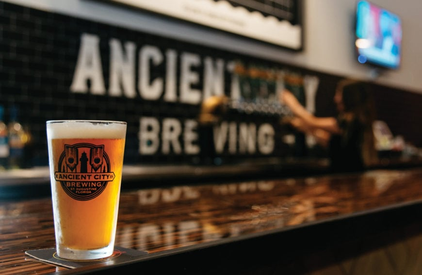 Ancient City Brewing's Taproom