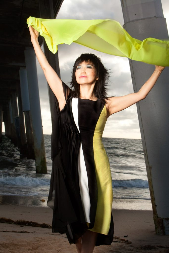 Keiko Matsui performs at the ponte vedra concert hall