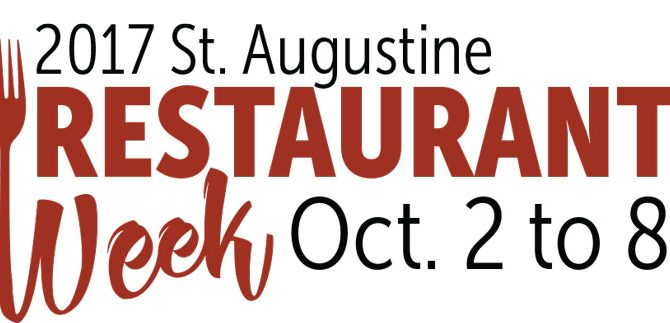 Prepare Your Tastebuds for St. Augustine Restaurant Week 2017