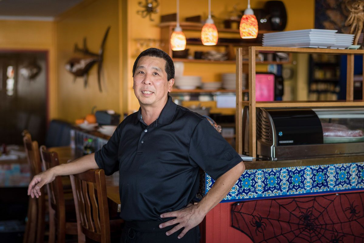 austin katoh is the sushi chef at kingfish grill in st augustine florida
