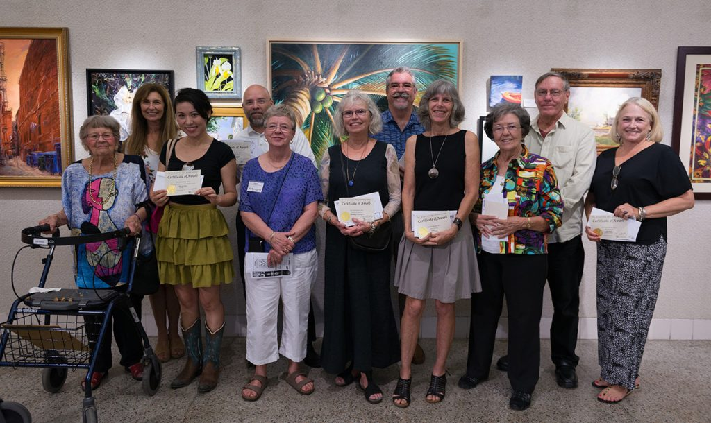 st augustine art association fall member awards