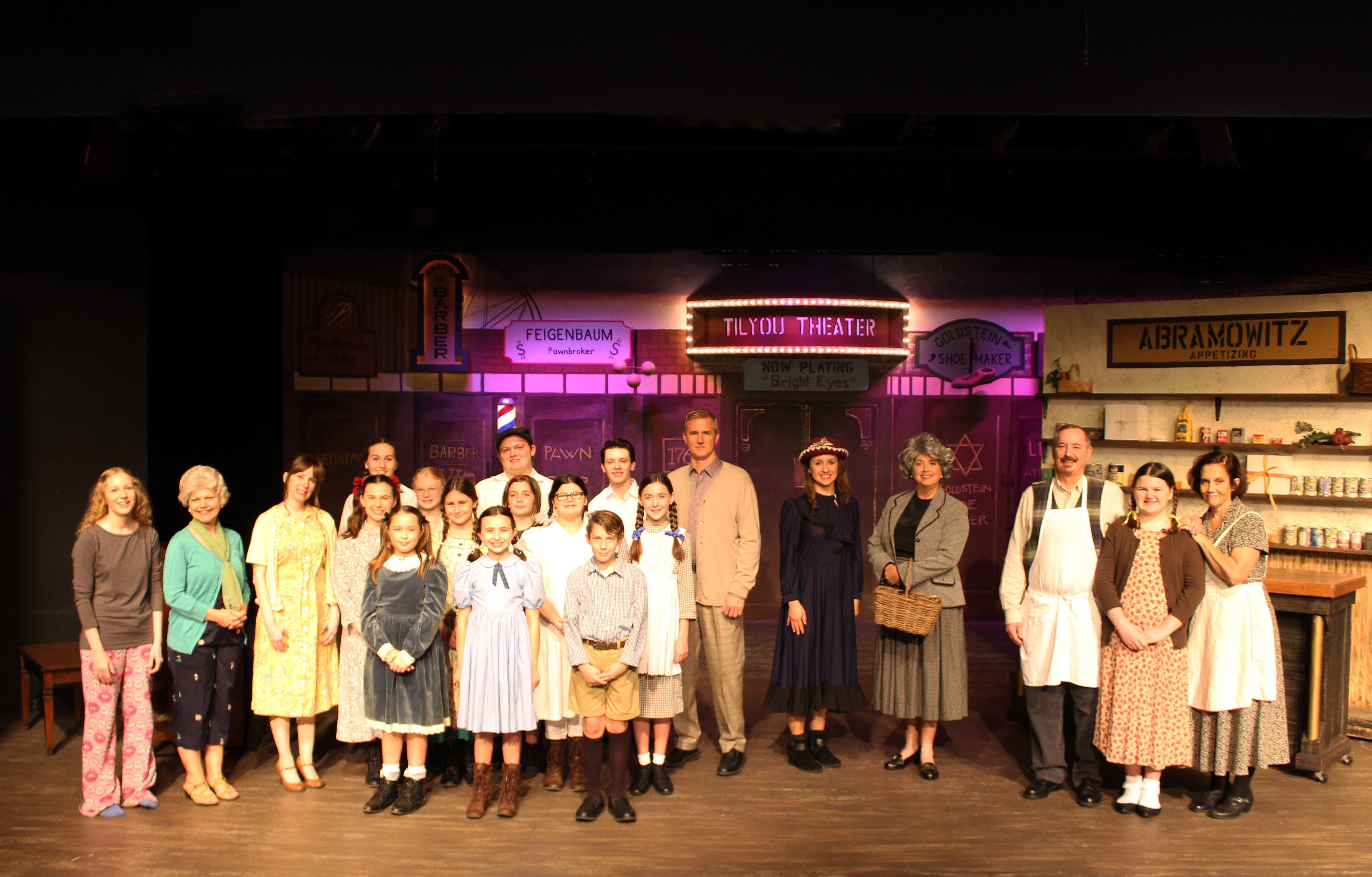 coney island christmas at limelight theatre cast