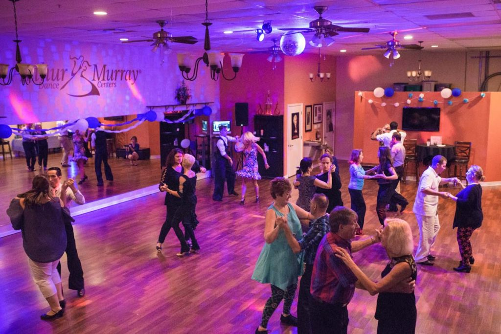 group lesson and dance party at arthur murray dance studio st augustine florida
