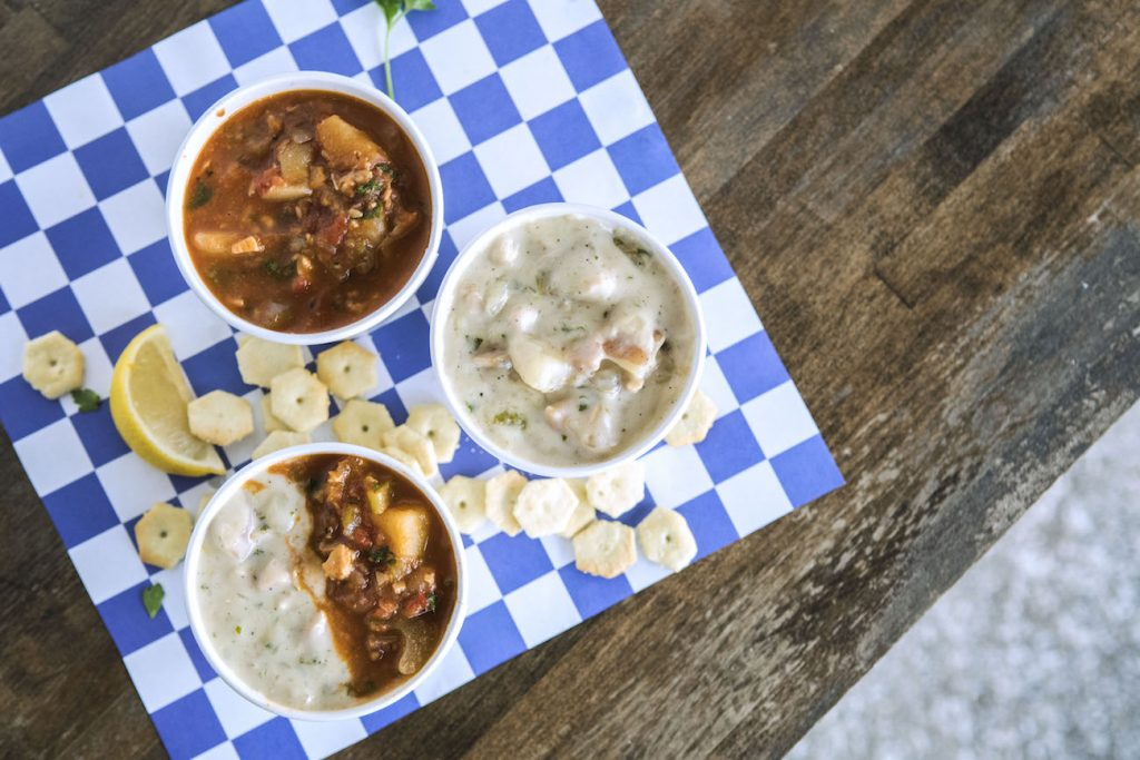 st augustine seafood company chowders