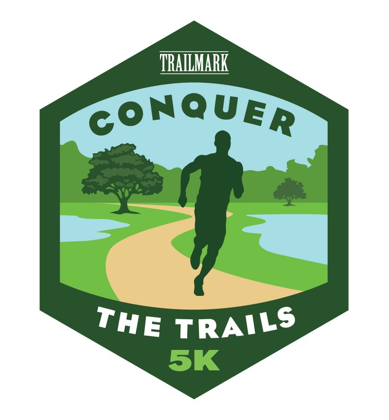 trailmark st augustine conquer the trails logo