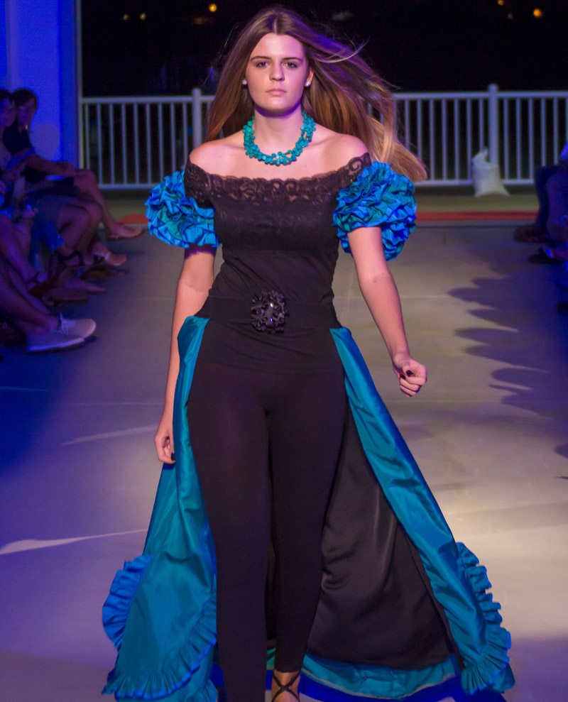 ani sarkissian presented at st augustine fashion week