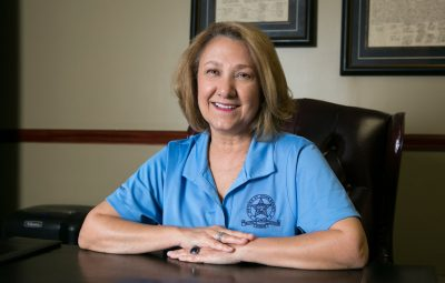 victim advocate colette domingue works at the st johns county sheriff's office