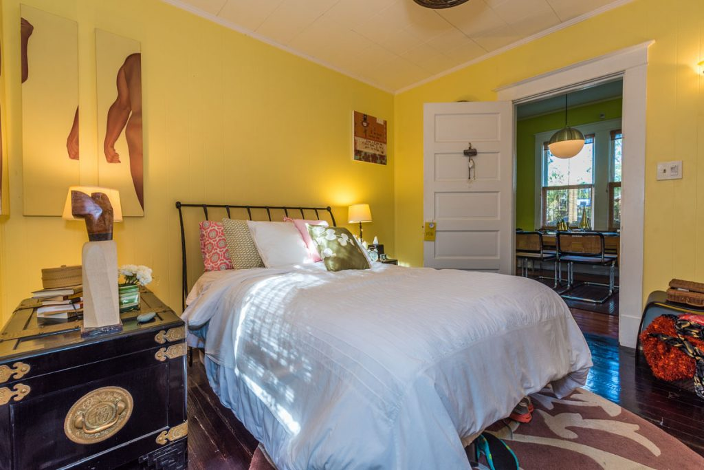 bedroom in lincolnville st augustine cottage
