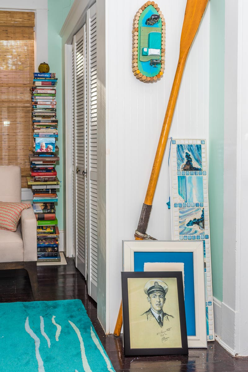 details of eclectic lincolnville st augustine cottage