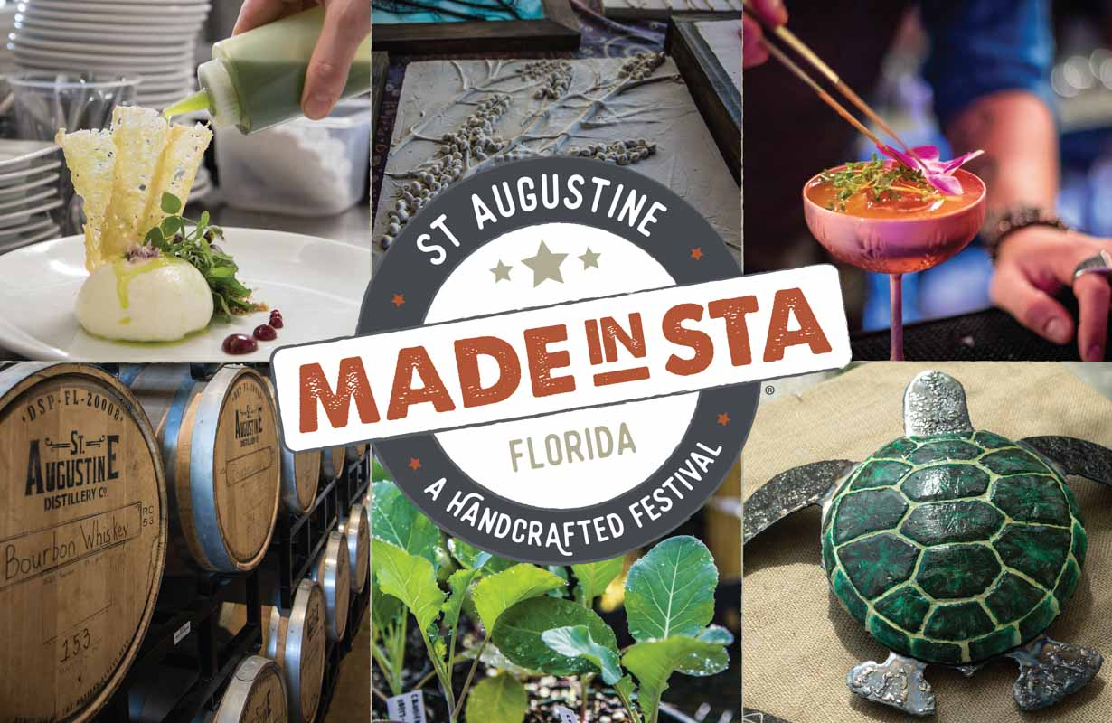 made in st augustine festival 2018 logo