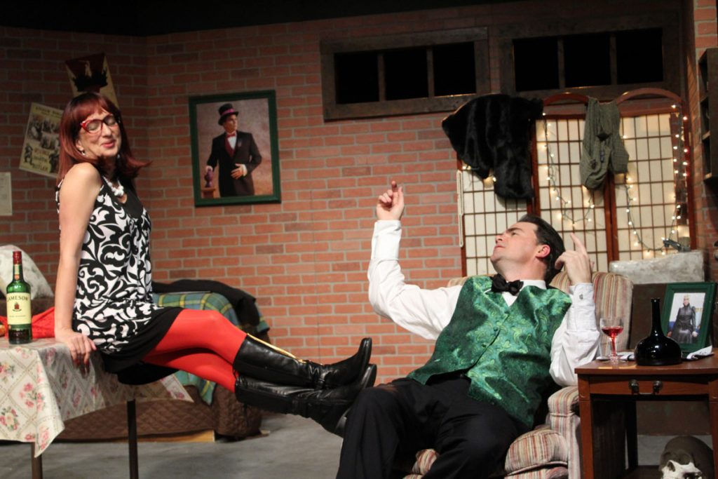 mrs mcgee and evelyn peforming corpse at limelight theatre st augustine