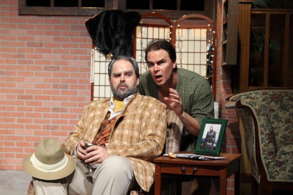 major powell and evelyn perform corpse at limelight theatre st augustine