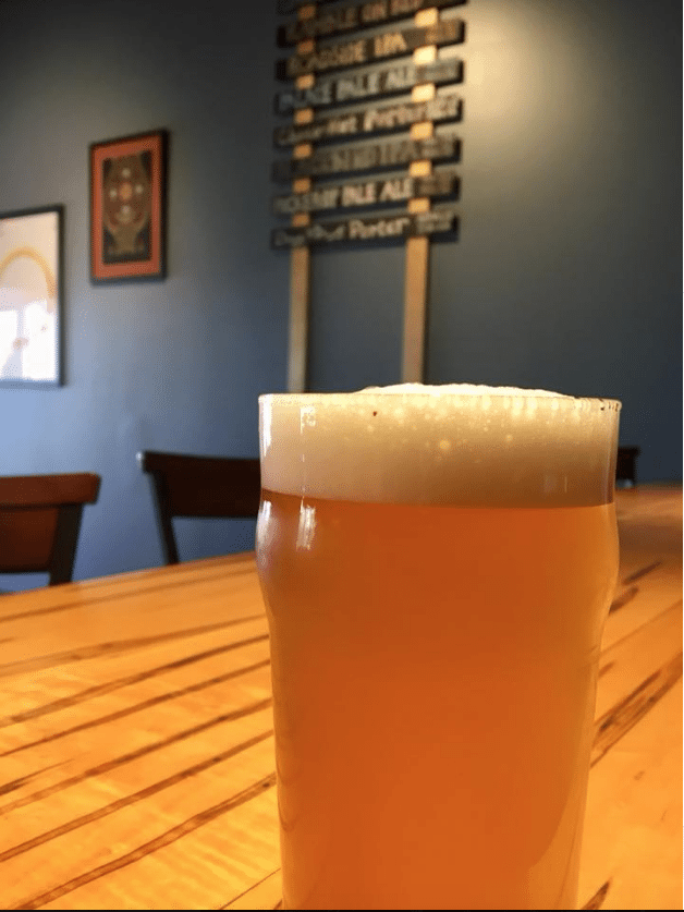 pucker up pale ale - dog rose brewing