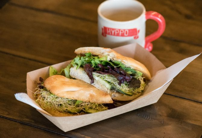 Fresh from the Garden: The Du Jardin Sandwich at St. Augustine's Hyppo Cafe