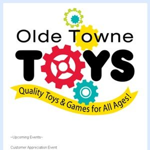 Welcome To The Olde Towne Toys