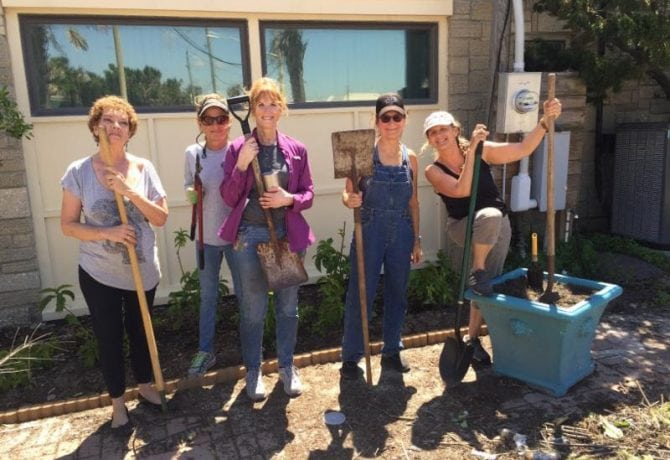 St. Johns Cultural Council Completes Courtyard Beautification Project