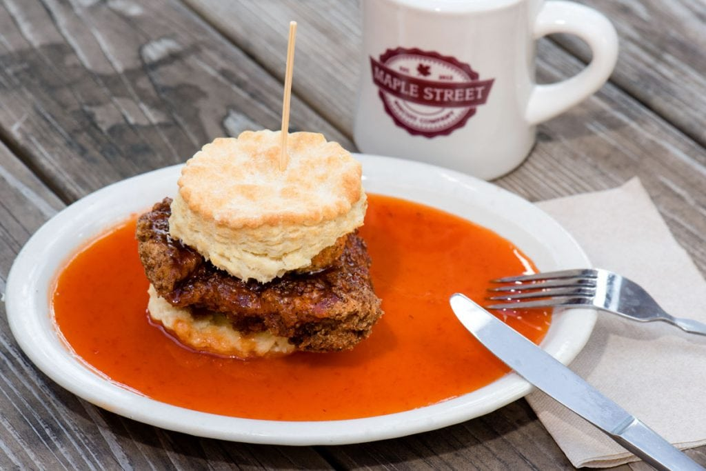 the squawking goat at maple street biscuit company