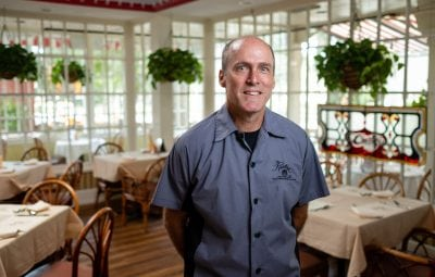 chef chris cantabene of raintree restaurant st augustine