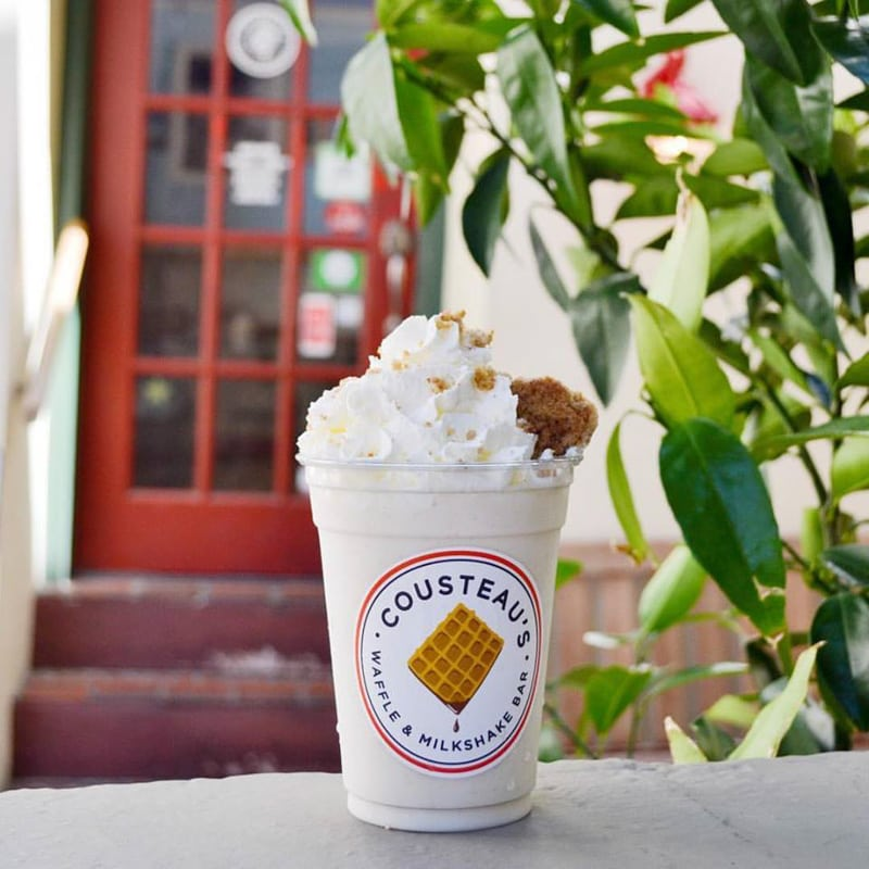 cousteau's waffle and milkshake bar st augustine