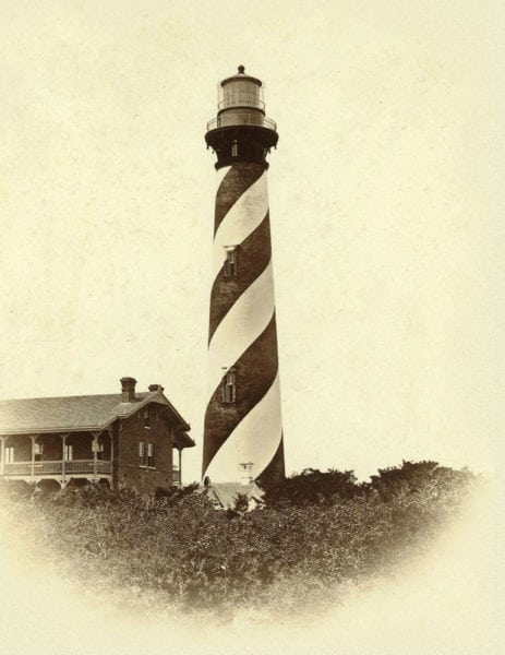 St. Augustine Lighthouse historical photo
