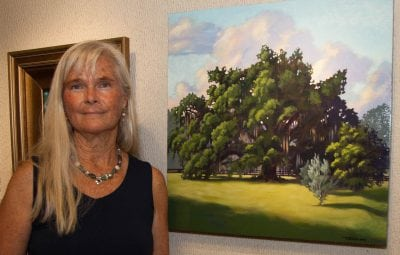 st augustine art association awards teri tompkins top prize at fall members show