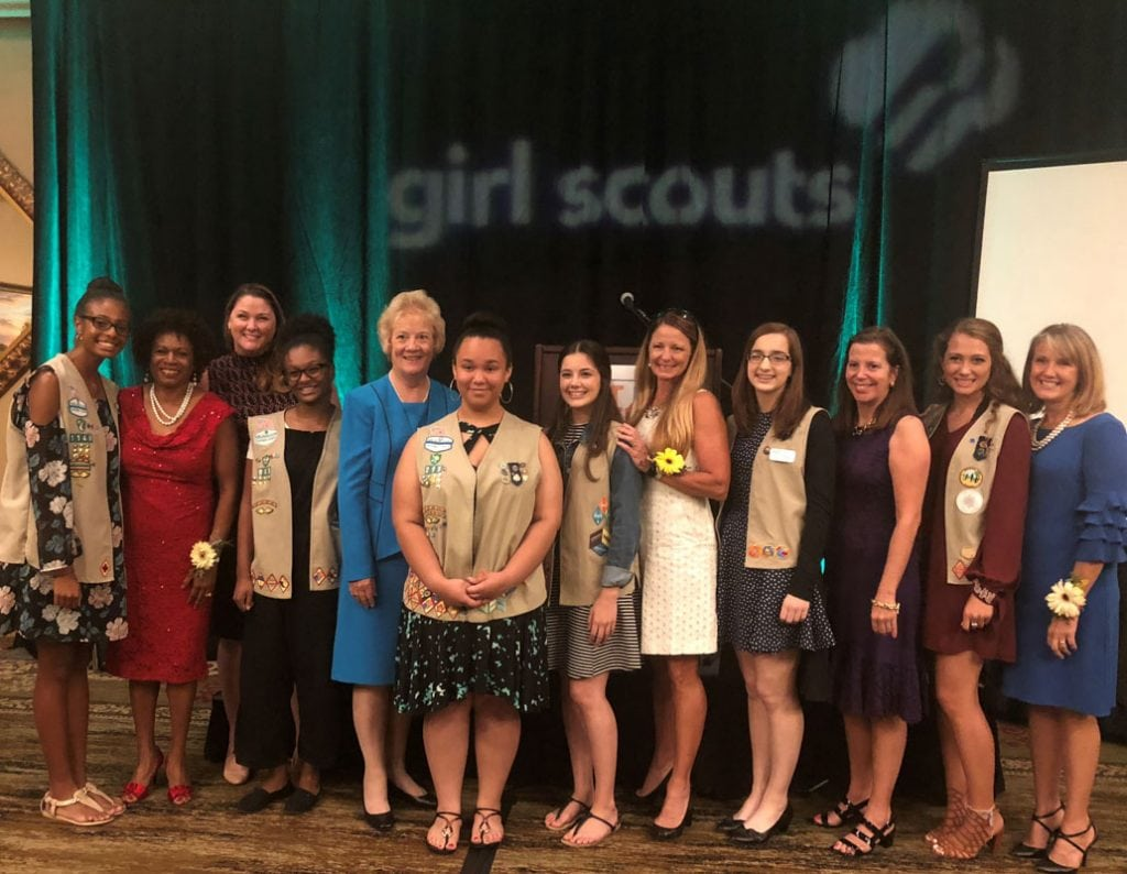 girl scouts of gateway council honors women of distinction