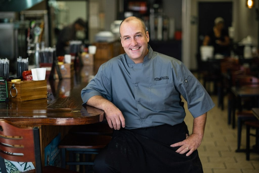 chef kevin boose of the press st augustine