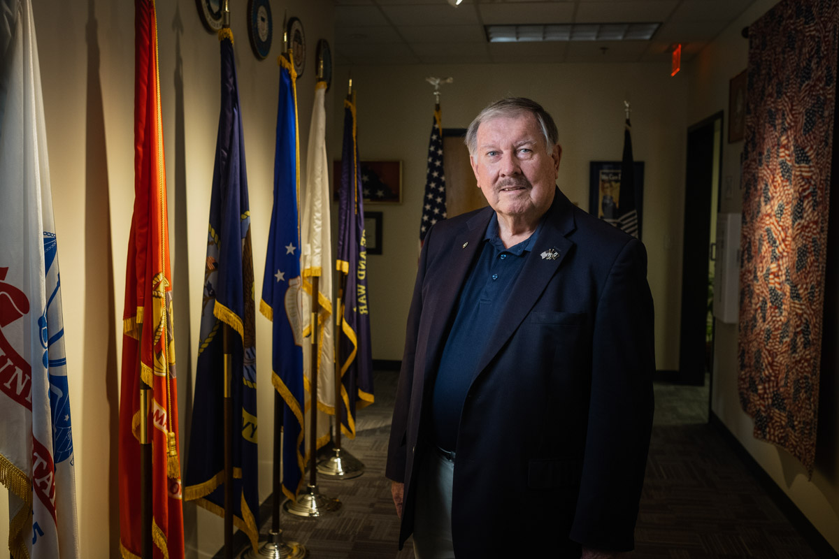 william dudley of the veterans council st johns county