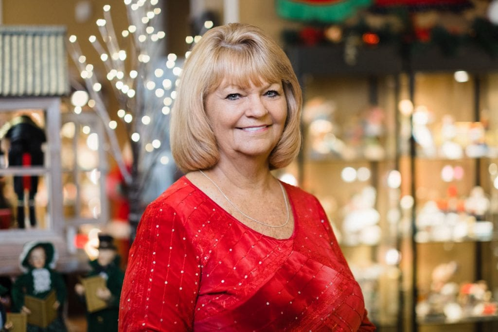 linda abbott of the st augustine christmas parade