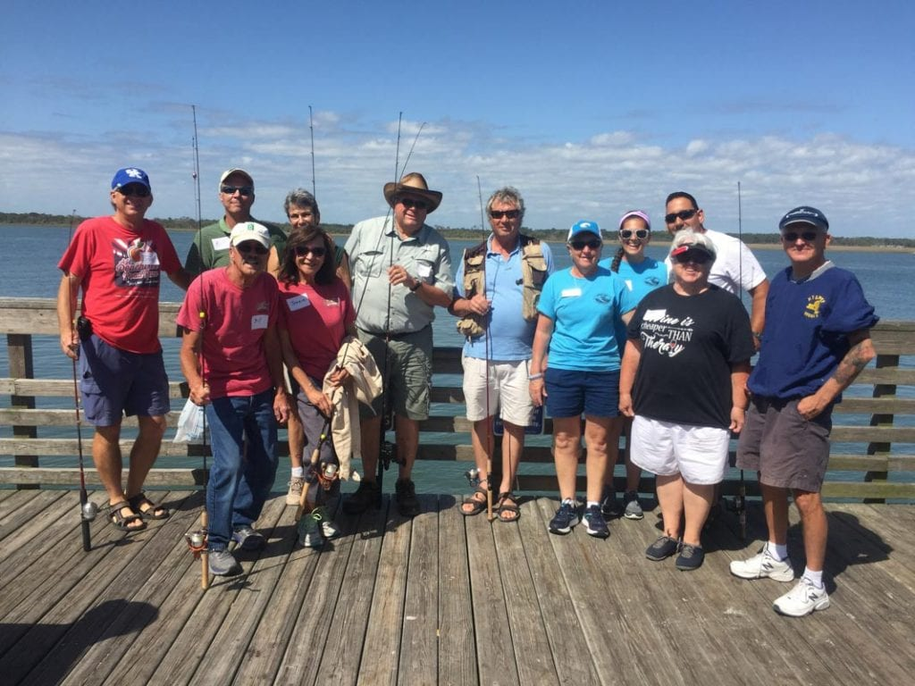 saltwater fishing clinic with st johns county parks and recreation